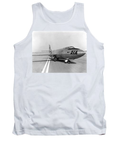 Tank Top featuring the photograph First Supersonic Aircraft, Bell X-1 by Science Source
