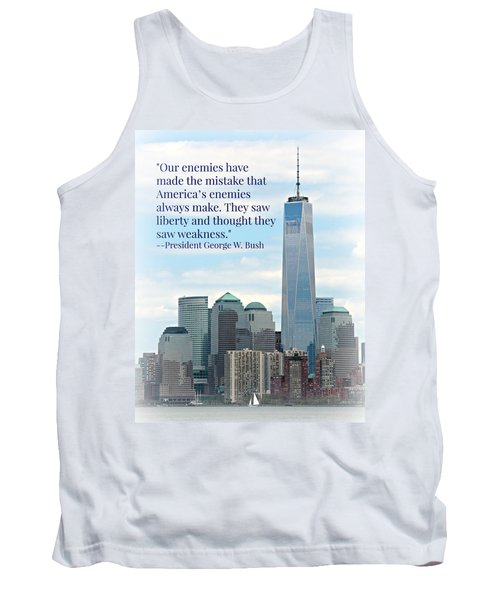 Freedom On The Rise Tank Top by Stephen Stookey
