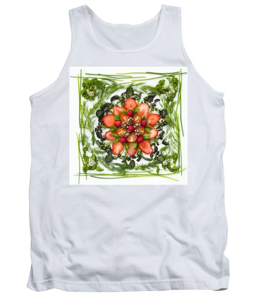 Fresh Fruit Salad Tank Top by Anne Gilbert