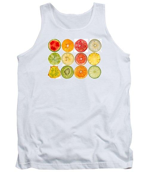 Fruit Market Tank Top by Steve Gadomski