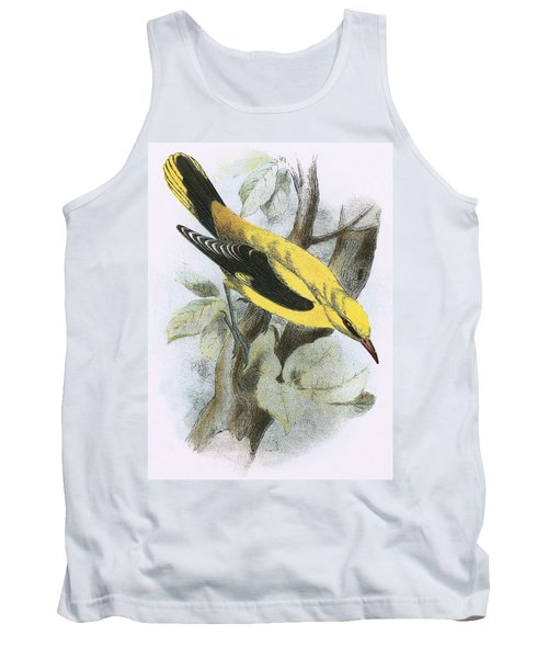Golden Oriole Tank Top by English School