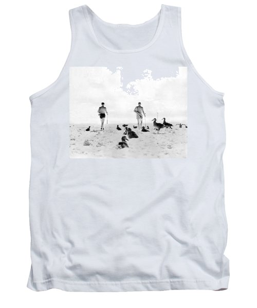 Golf With Gooney Birds Tank Top by Underwood Archives