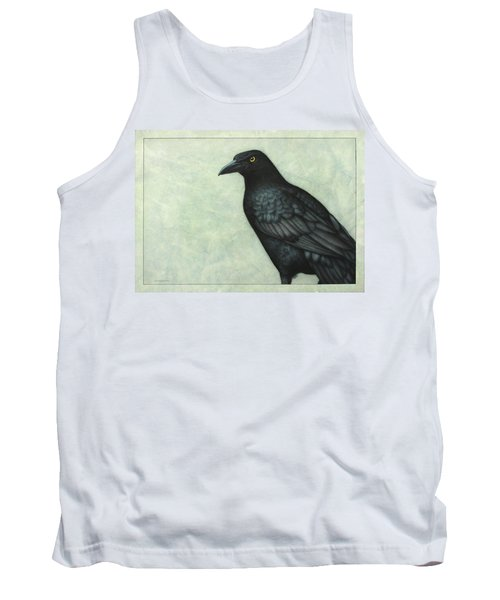Grackle Tank Top by James W Johnson
