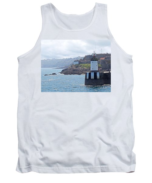 Guernsey Lighthouse Tank Top by Gill Billington