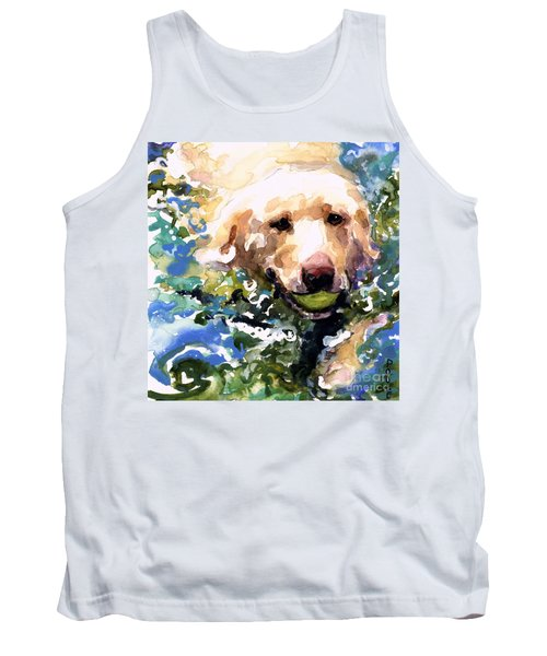 Head Above Water Tank Top by Molly Poole