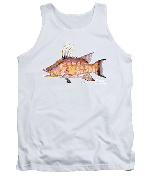 Hog Fish Tank Top by Carey Chen