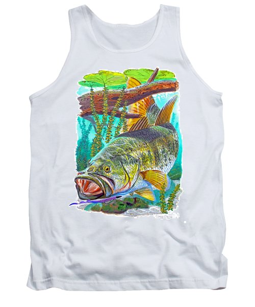 Largemouth Bass Tank Top by Carey Chen