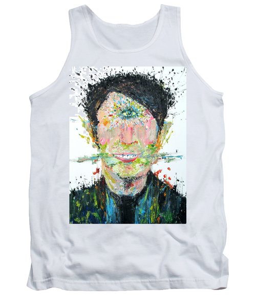 Love Me Do Tank Top by Fabrizio Cassetta