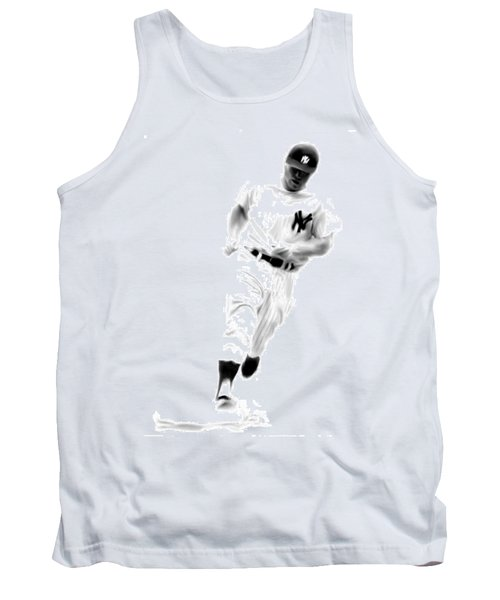 Mantles Gate  Mickey Mantle Tank Top by Iconic Images Art Gallery David Pucciarelli