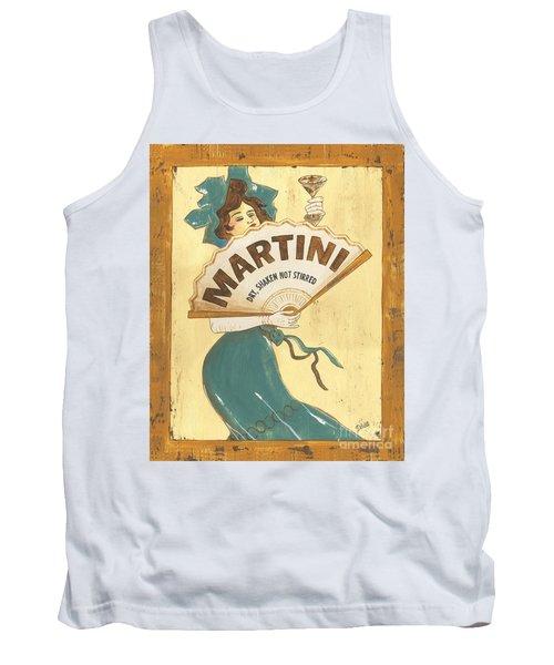Martini Dry Tank Top by Debbie DeWitt