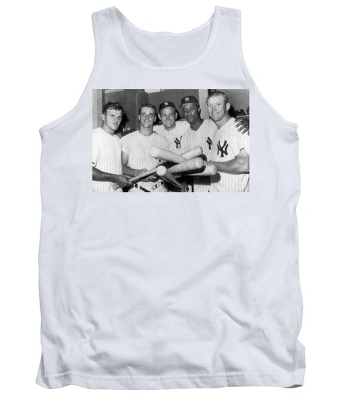 New York Yankee Sluggers Tank Top by Underwood Archives