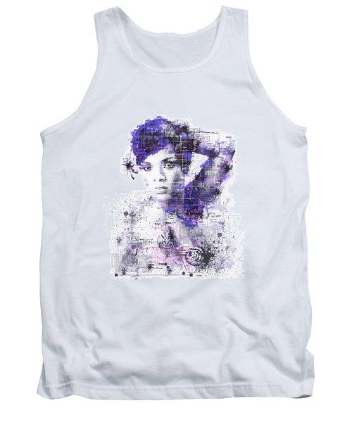 Rihanna Tank Top by Bekim Art