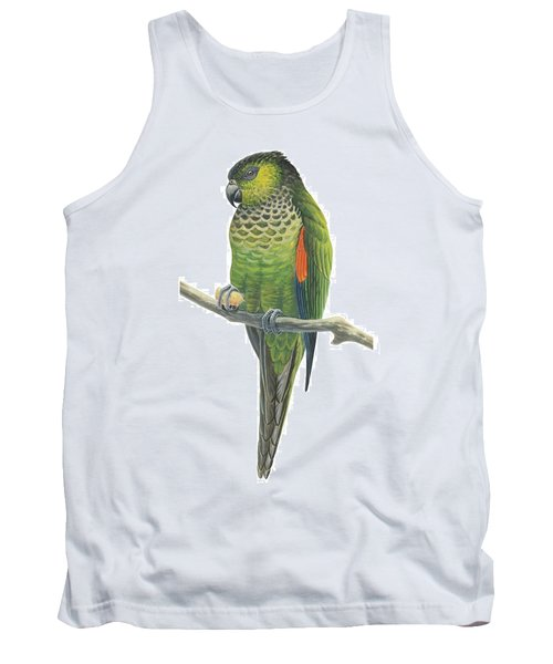 Rock Parakeet Tank Top by Anonymous
