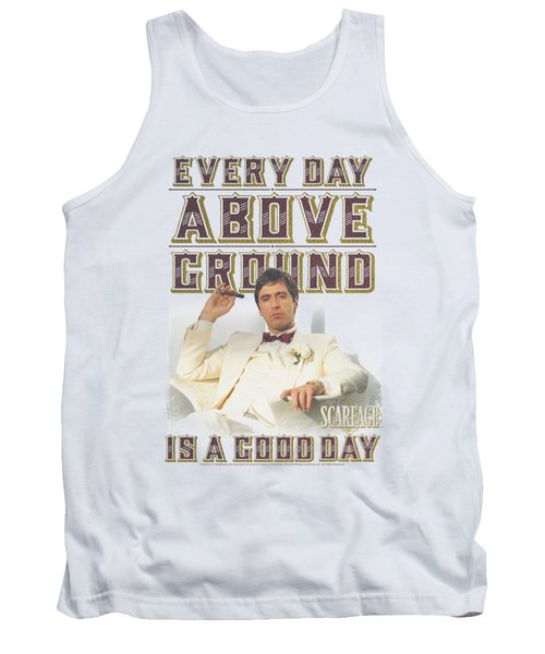 Scarface - Above Ground Tank Top by Brand A