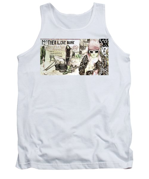 Seattle 1990's Tank Top by Joshua Morton