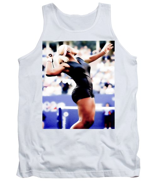 Serena Williams Catsuit Tank Top by Brian Reaves