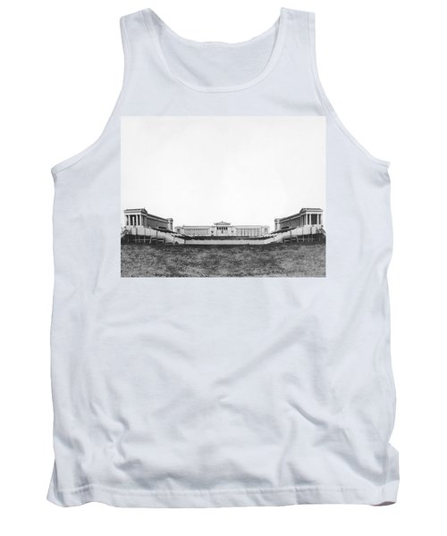 Soldiers' Field And Museum Tank Top by Underwood Archives