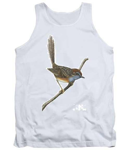 Southern Emu Wren Tank Top by Anonymous