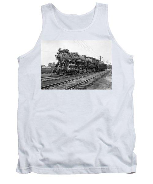 Steam Locomotive Crescent Limited C. 1927 Tank Top by Daniel Hagerman