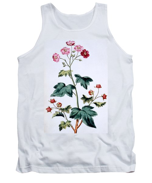 Sweet Canada Raspberry Tank Top by John Edwards
