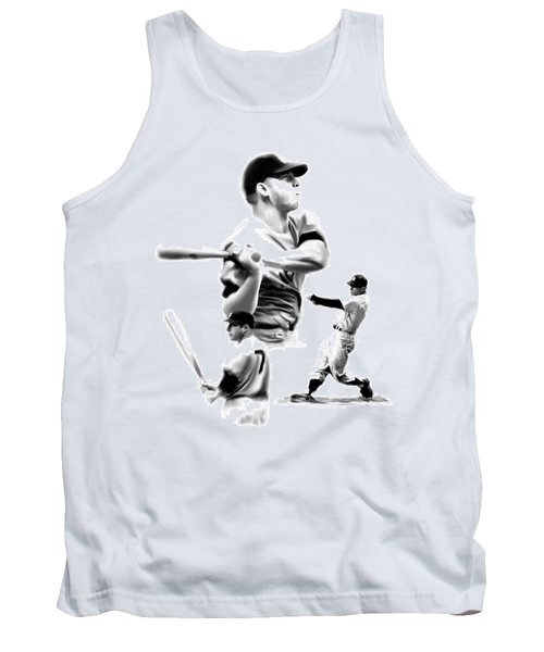 The Mick  Mickey Mantle Tank Top by Iconic Images Art Gallery David Pucciarelli