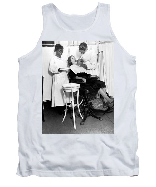 The North Harlem Dental Clinic Tank Top by Underwood Archives