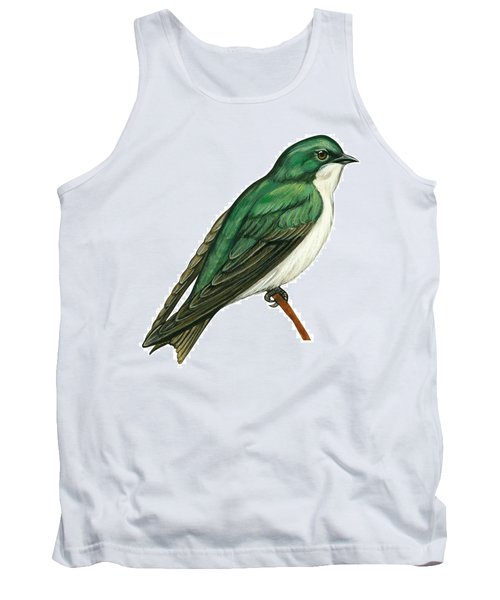 Tree Swallow  Tank Top by Anonymous