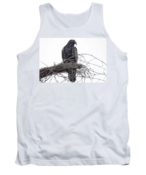 Turkey Vulture Tank Top by Douglas Barnard