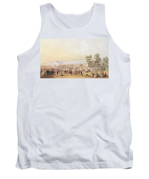 View Of The Crystal Palace Tank Top by George Baxter