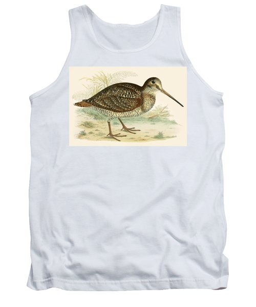 Woodcock Tank Top by Beverley R Morris