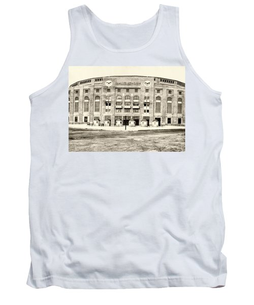 Yankee Stadium Tank Top by Bill Cannon