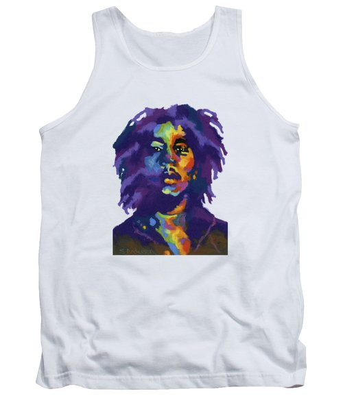 Bob Marley-for T-shirt Tank Top by Stephen Anderson