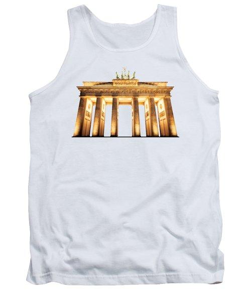 Brandenburg Gate Tank Top by Julie Woodhouse