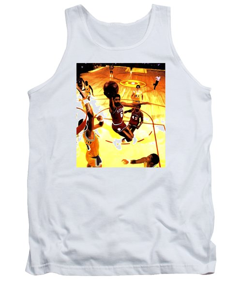 Doctor J Tank Top by Brian Reaves