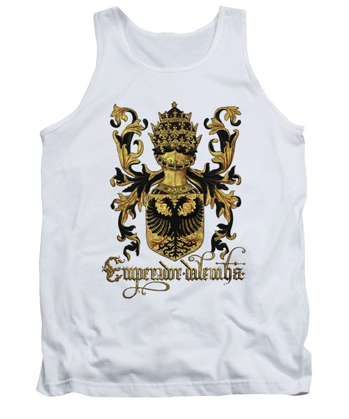 Emperor Of Germany Coat Of Arms - Livro Do Armeiro-mor Tank Top by Serge Averbukh