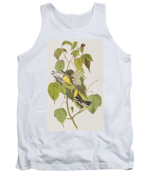 Hemlock Warbler Tank Top by John James Audubon