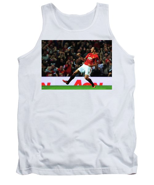 Manchester United's Zlatan Ibrahimovic Celebrates Tank Top by Don Kuing