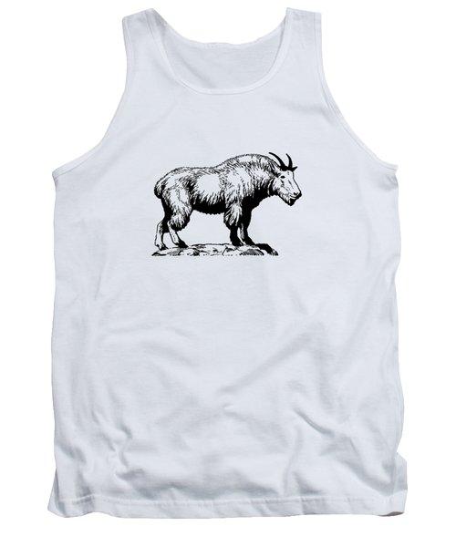 Mountain Goat Tank Top by Mordax Furittus