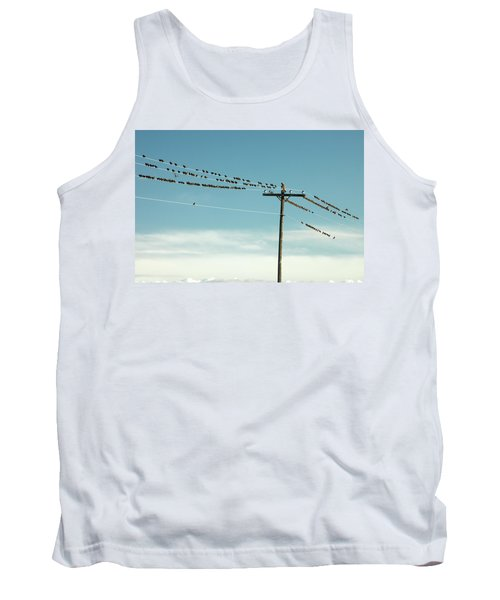 Not Like The Others Tank Top by Todd Klassy