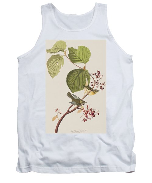 Pine Swamp Warbler Tank Top by John James Audubon