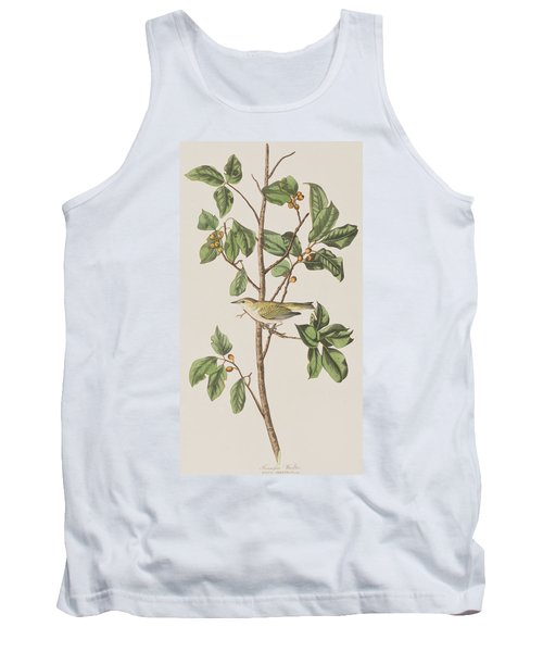 Tennessee Warbler Tank Top by John James Audubon