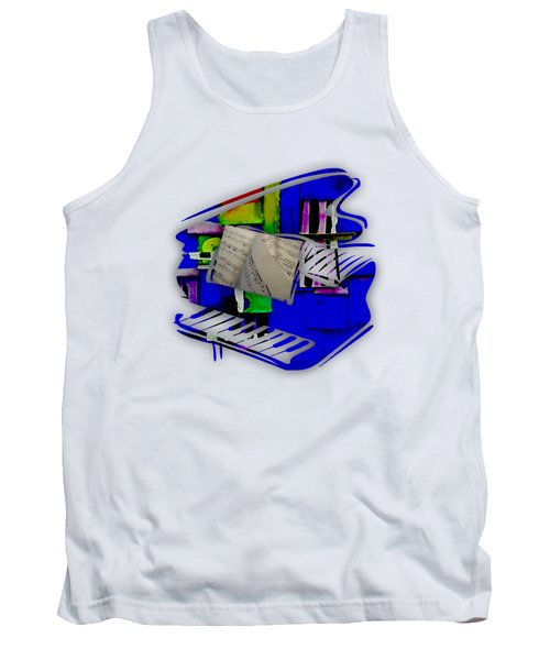 Piano Collection Tank Top by Marvin Blaine