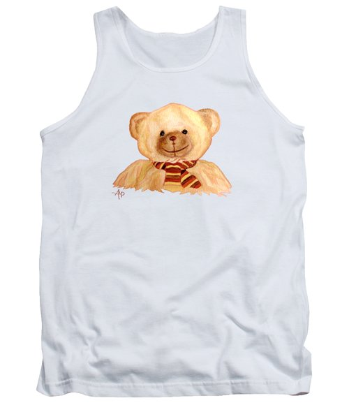 Cuddly Bear Tank Top by Angeles M Pomata