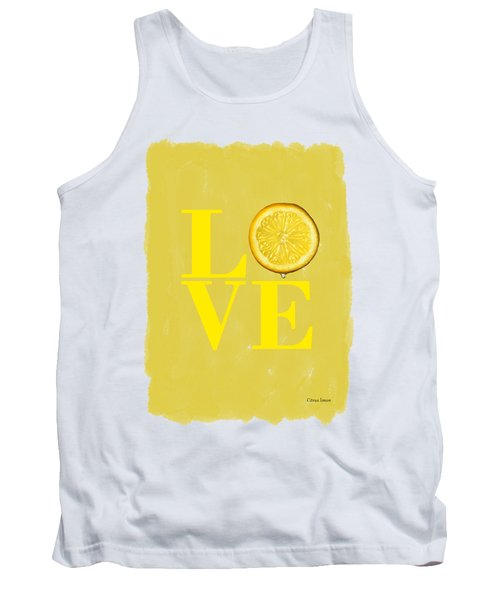 Lemon Tank Top by Mark Rogan
