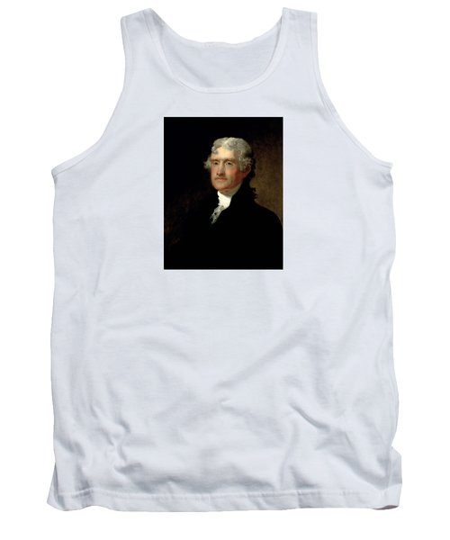 President Thomas Jefferson  Tank Top by War Is Hell Store