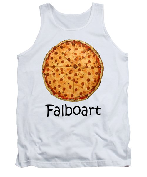 The Big Ass New York Pizza Tank Top by Anthony Falbo