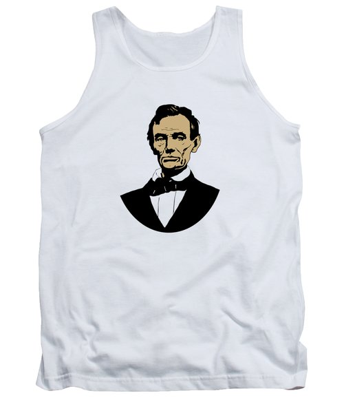 President Lincoln Tank Top by War Is Hell Store