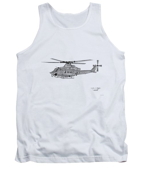Bell Helicopter Uh-1y Venom Tank Top by Arthur Eggers