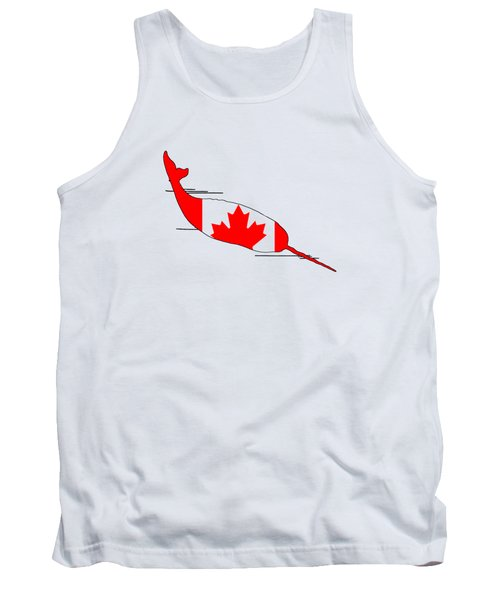 Narwhal Tank Top by Mordax Furittus