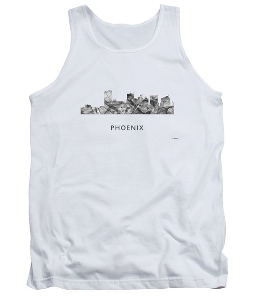 Phoenix Arizona Skyline Tank Top by Marlene Watson